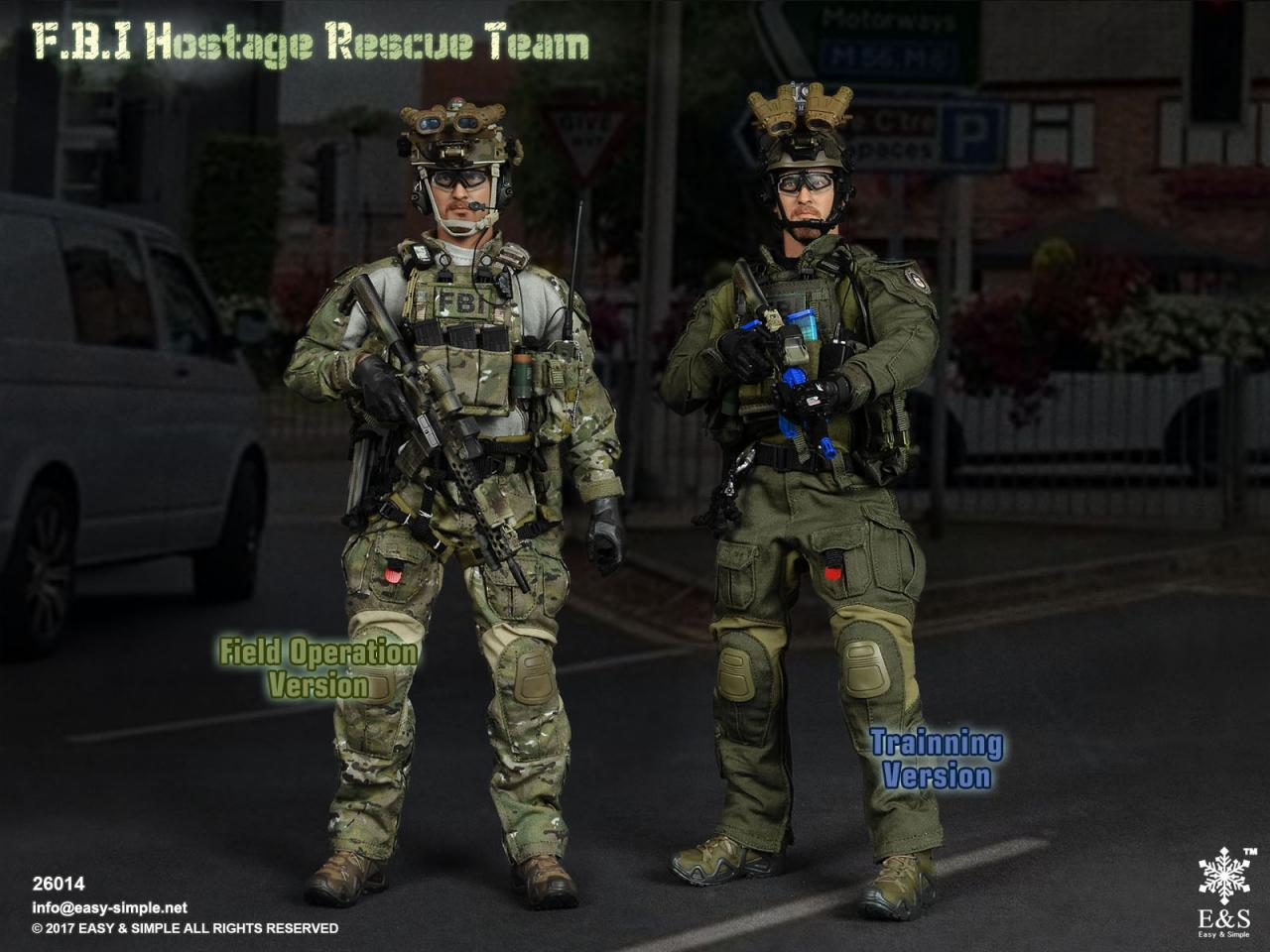 Easy&Simple 26014 FBI Hostage Rescue Team (2 Versions)-26014-0-jpg
