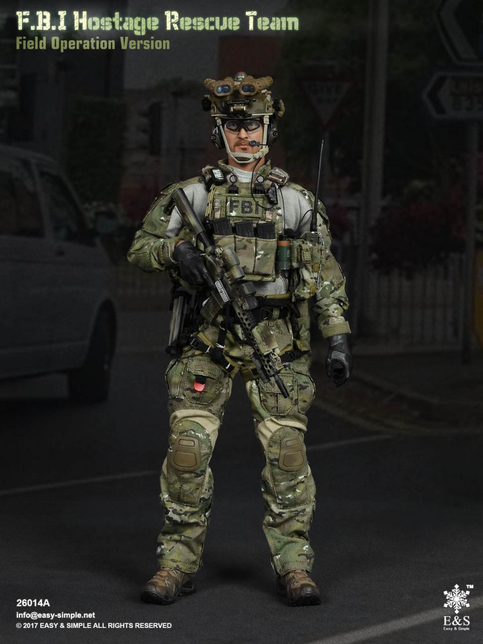 Easy&Simple 26014 FBI Hostage Rescue Team (2 Versions)-26014a-1-jpg