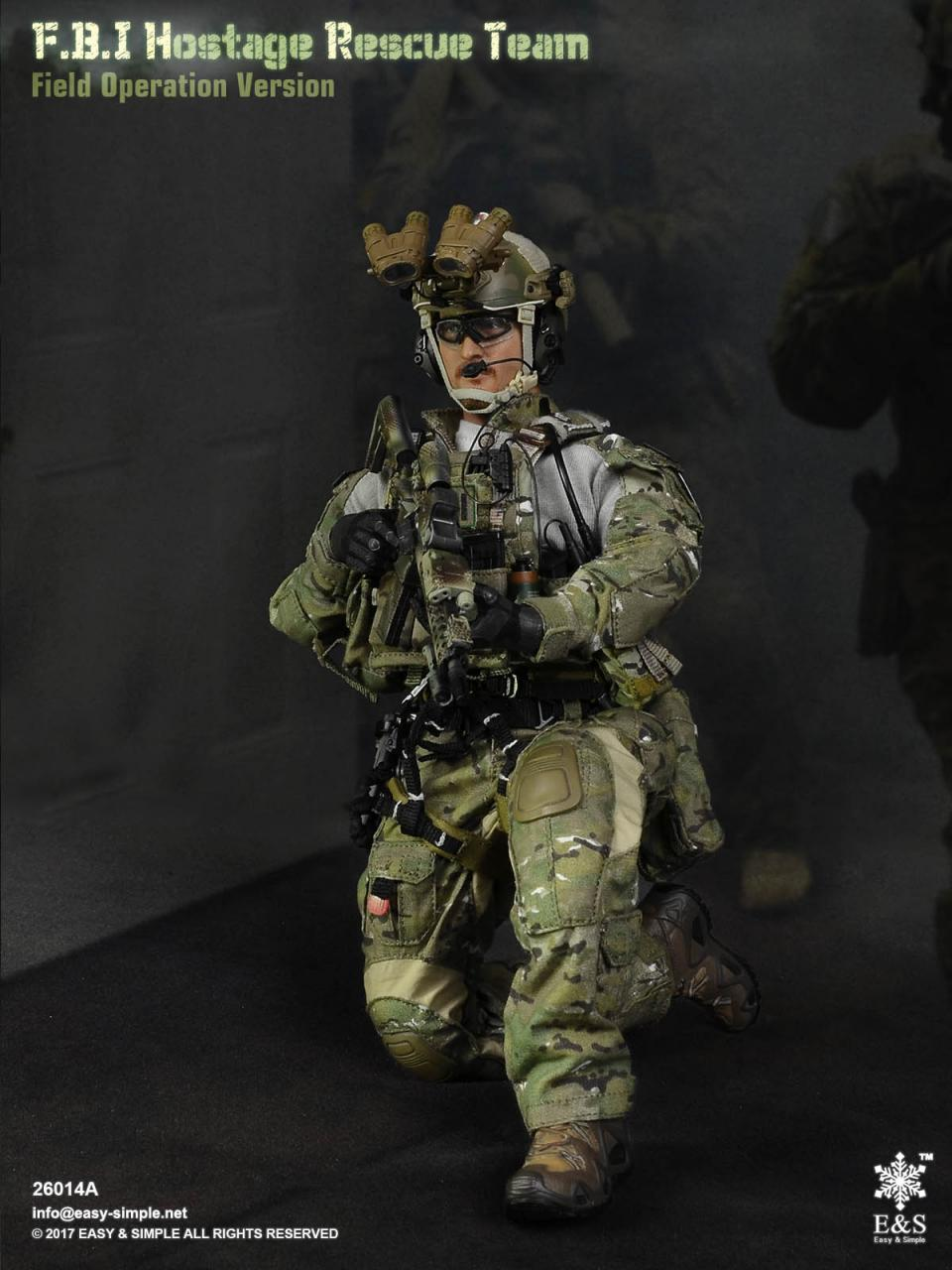 Easy&Simple 26014 FBI Hostage Rescue Team (2 Versions)-26014a-10-jpg