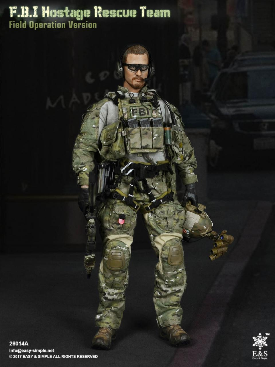 Easy&Simple 26014 FBI Hostage Rescue Team (2 Versions)-26014a-15-jpg