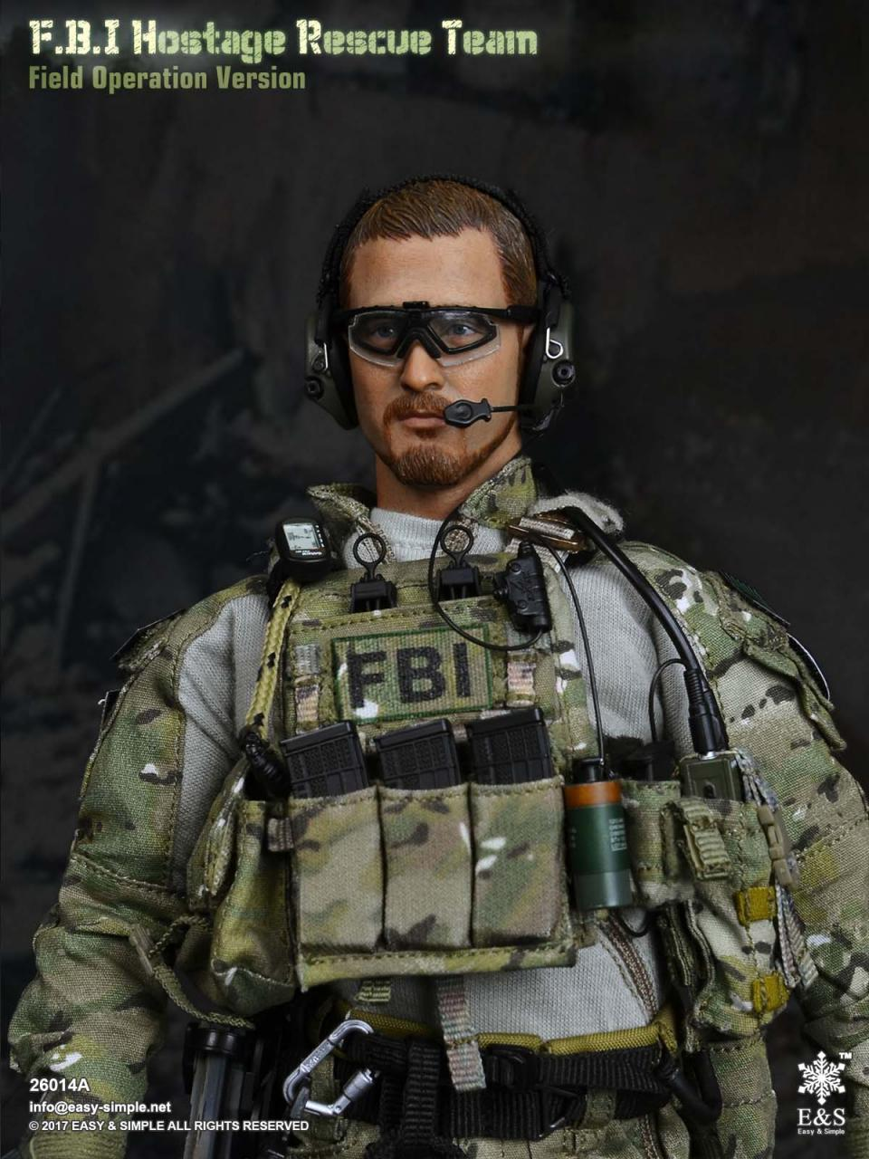Easy&Simple 26014 FBI Hostage Rescue Team (2 Versions)-26014a-19-jpg