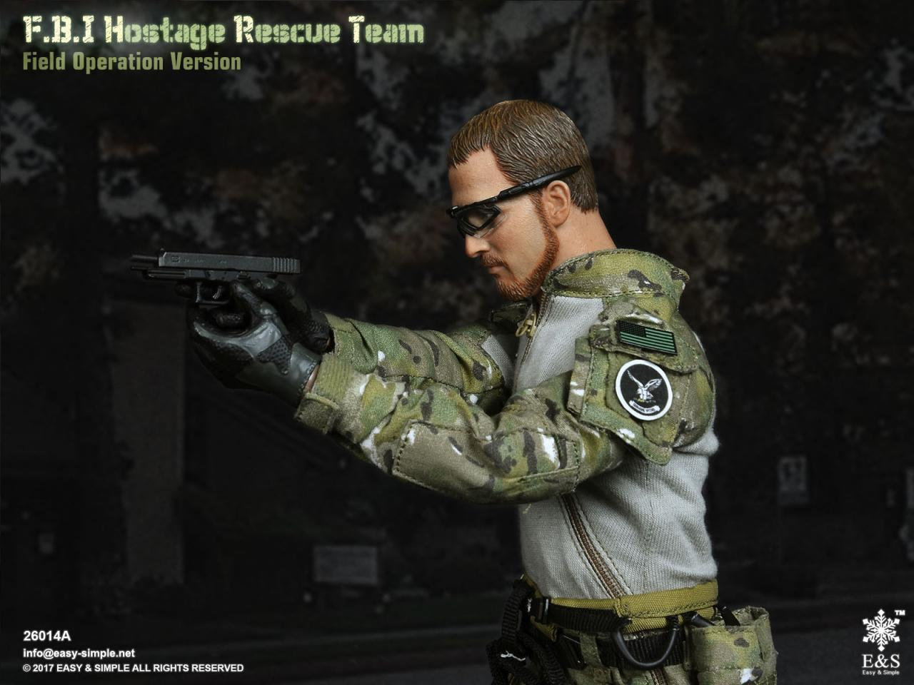 Easy&Simple 26014 FBI Hostage Rescue Team (2 Versions)-26014a-24-jpg