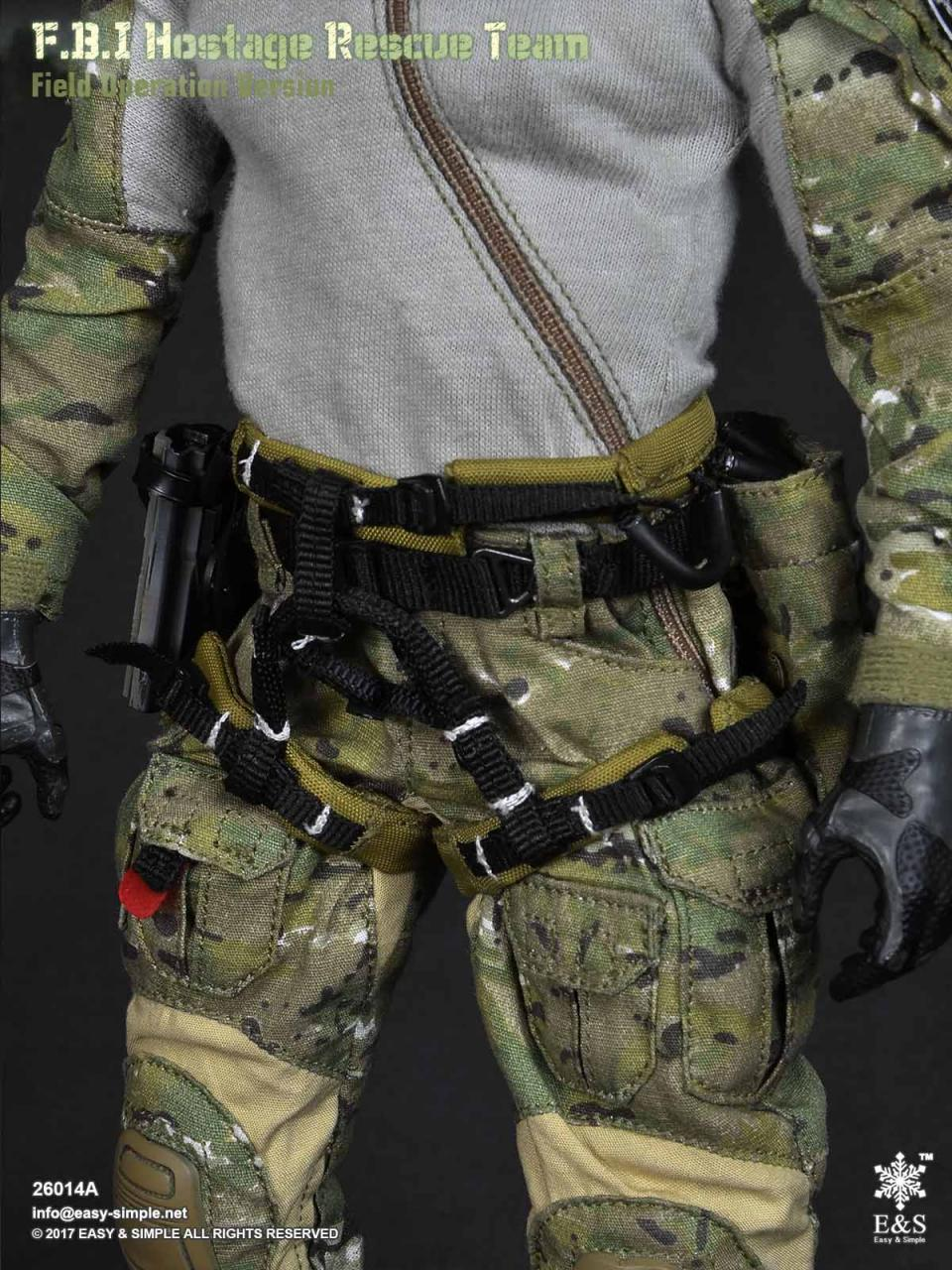 Easy&Simple 26014 FBI Hostage Rescue Team (2 Versions)-26014a-25-jpg