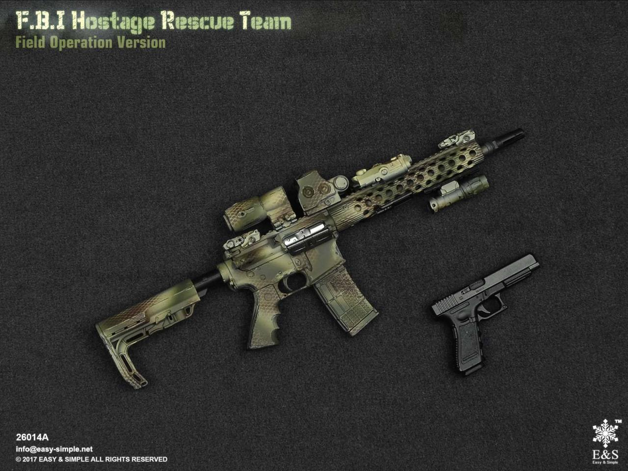 Easy&Simple 26014 FBI Hostage Rescue Team (2 Versions)-26014a-29-jpg