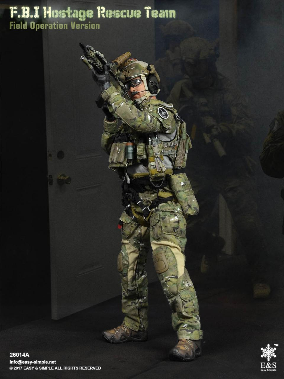 Easy&Simple 26014 FBI Hostage Rescue Team (2 Versions)-26014a-7-jpg