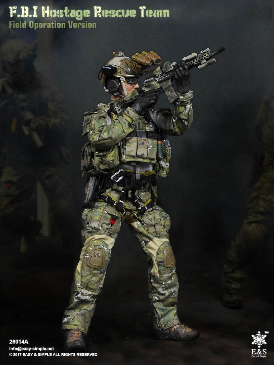 Easy&Simple 26014 FBI Hostage Rescue Team (2 Versions)-26014a-8-jpg