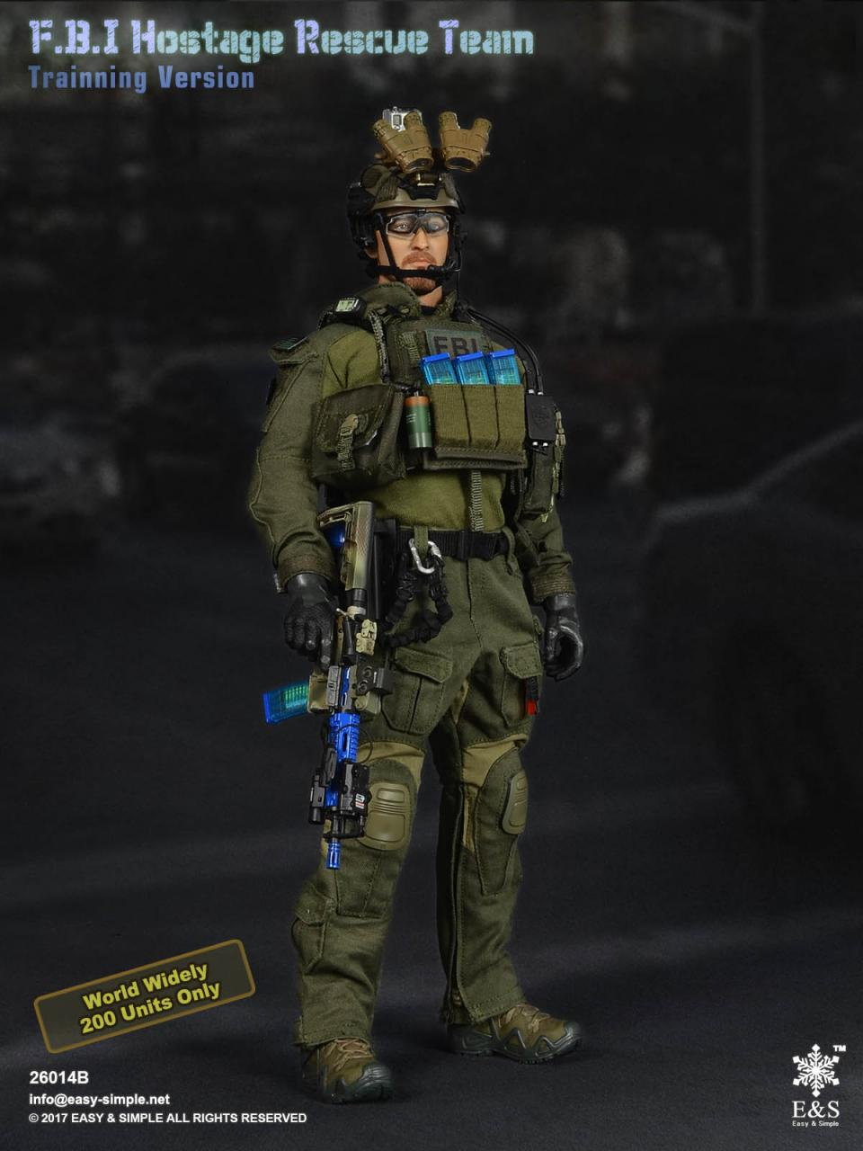 Easy&Simple 26014 FBI Hostage Rescue Team (2 Versions)-26014b-1-jpg