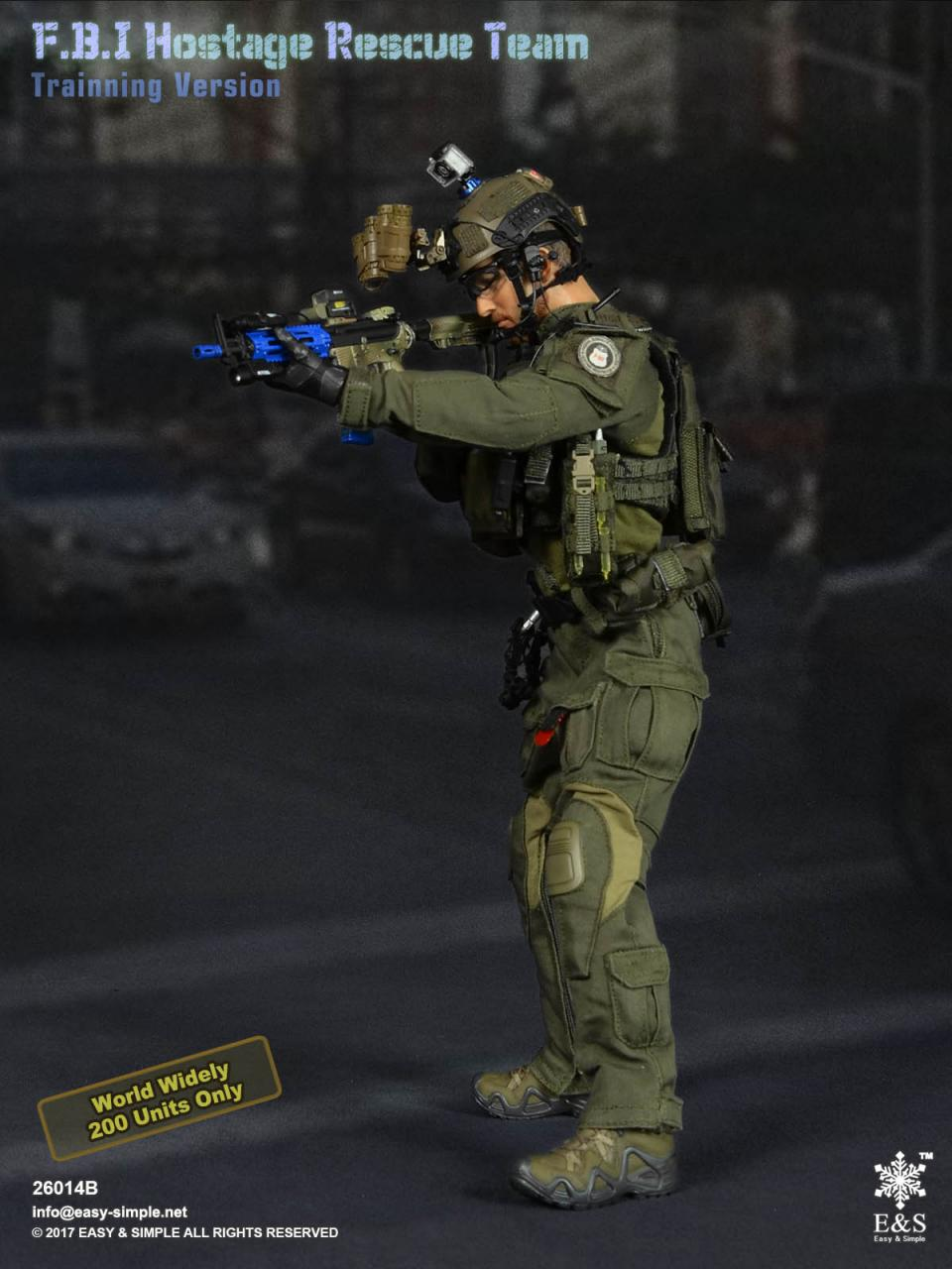 Easy&Simple 26014 FBI Hostage Rescue Team (2 Versions)-26014b-3-jpg