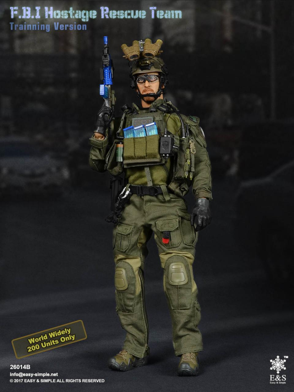 Easy&Simple 26014 FBI Hostage Rescue Team (2 Versions)-26014b-5-jpg
