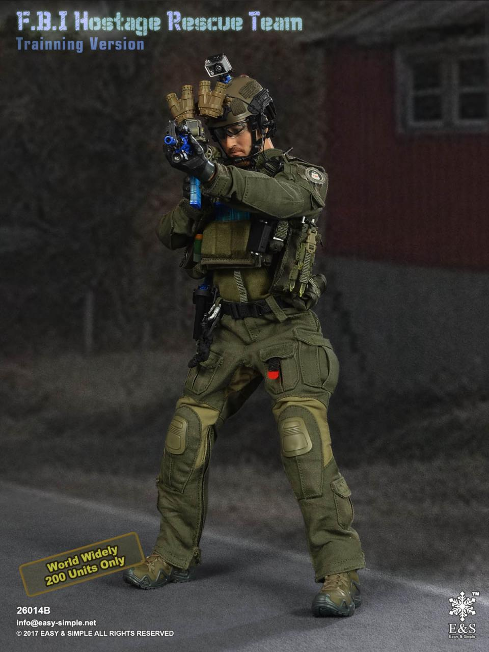 Easy&Simple 26014 FBI Hostage Rescue Team (2 Versions)-26014b-6-jpg