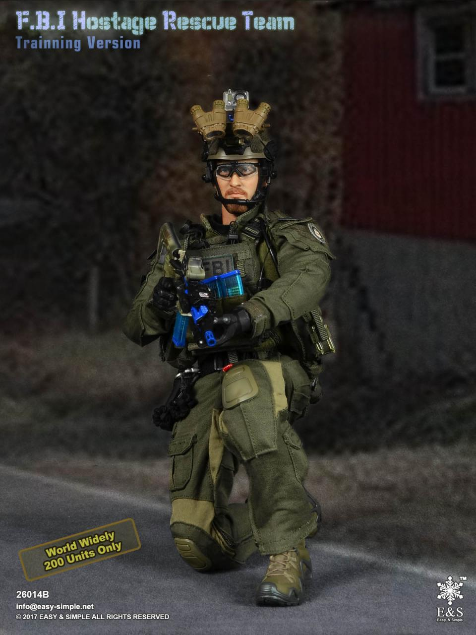 Easy&Simple 26014 FBI Hostage Rescue Team (2 Versions)-26014b-7-jpg
