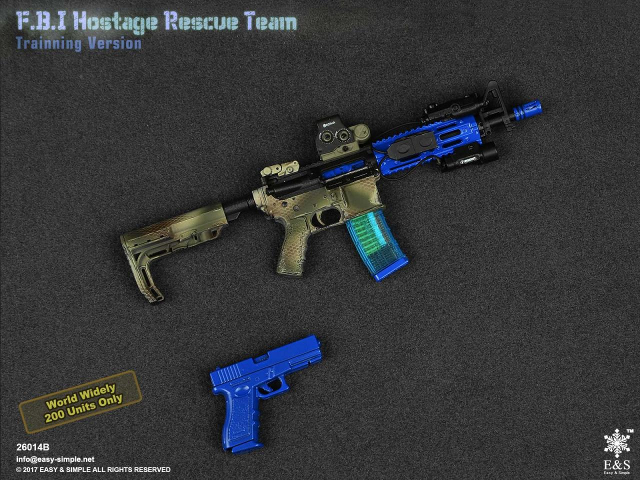 Easy&Simple 26014 FBI Hostage Rescue Team (2 Versions)-26014b-8-jpg