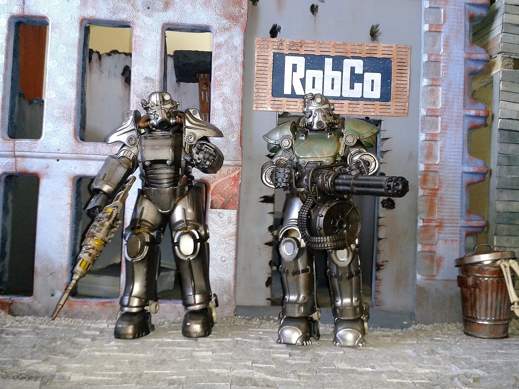 Squishy Collection Fallout Horizons : (Science) Fiction, Fantasy, & Adventure Fallout Collections - Threezero Power Armor - UPDATE ...