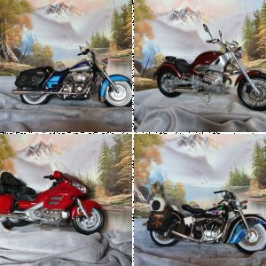 1/6 Scale Motorcycles